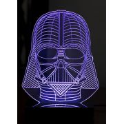 Luminária Illusion 3D Acrílico LED - Darth Vader