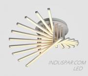 Luminária LED Geométrica 120W Pendente Facho 360º - 12000 Lúmens - SOB-120E-BQ