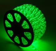 Mangueira 220V Verde LED - Luminosa Corda de Natal
