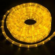 Mangueira Luminosa Amarela LED - 10 Metros 127V