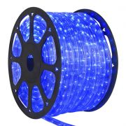 Mangueira Luminosa Azul LED - 100 Metros 220V - Corda de Natal