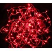Pisca - Pisca 100 LEDs Vermelho 10,00 Metros 127V - REF 1515