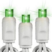 Pisca - Pisca 100 Micro Lâmpadas Verde com 5,50 Metros 127V ( PISCA 4 FUNÇÕES ) - REF 1030