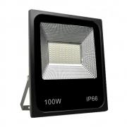 refletor de led SMD- 100 w - cor iluminação azul
