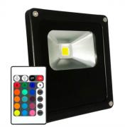 Refletor  10W Led RGB - Padrão Residencial