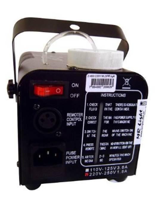 Máquina de Fumaça 400W - Controle Manual