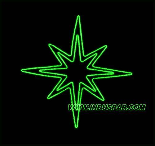 FI-025 - Estrela 8 Pontas Dupla  (veja opções)