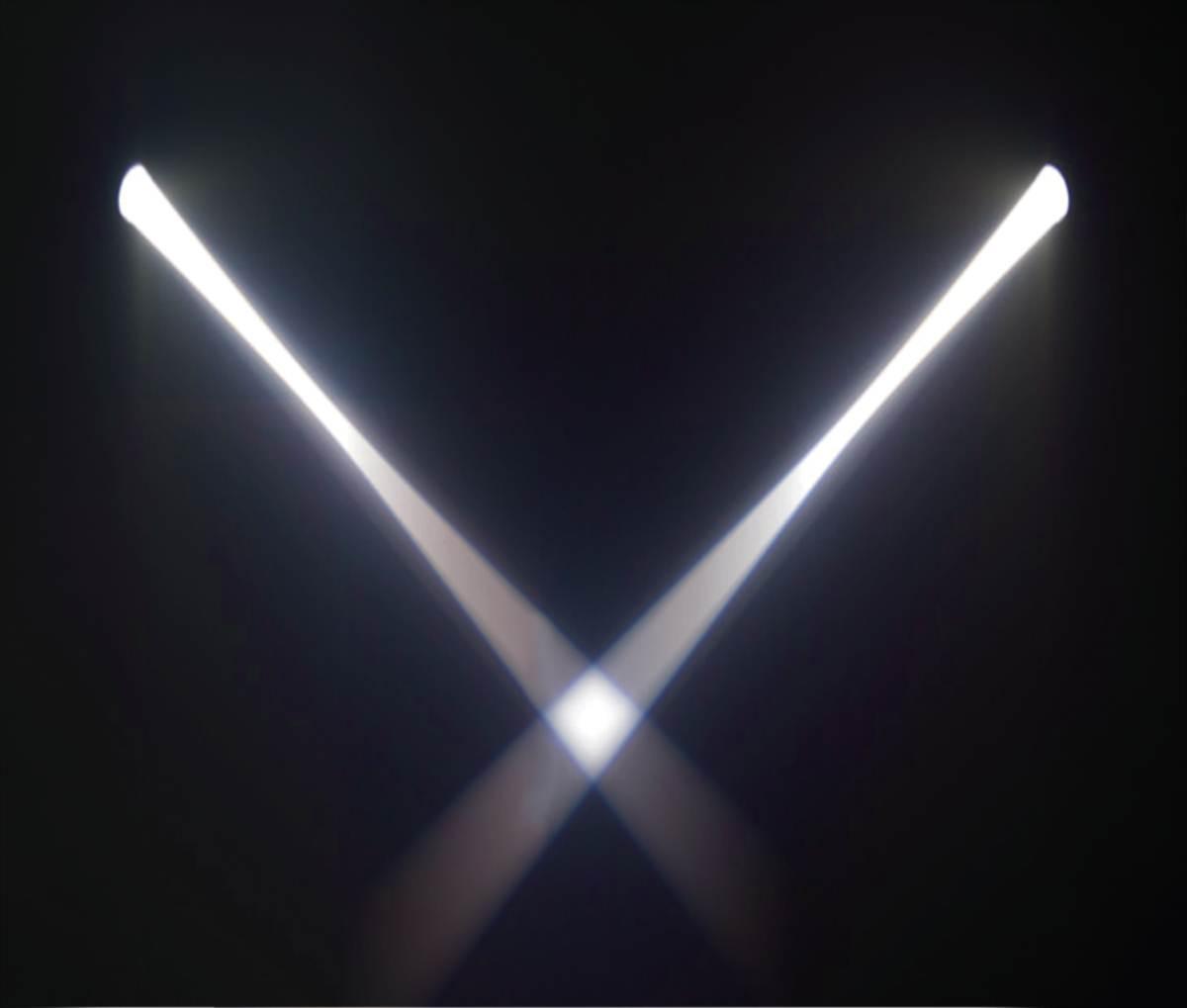 LED TEK Mini Beam Scan White DMX