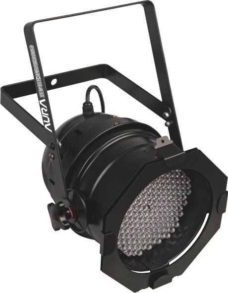 LED TEK Canhão slim Par 64 - RGB 180 LEDs 10MM DMX