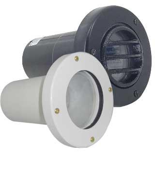 Luminária de embutir no Piso Lâmpada PAR 20