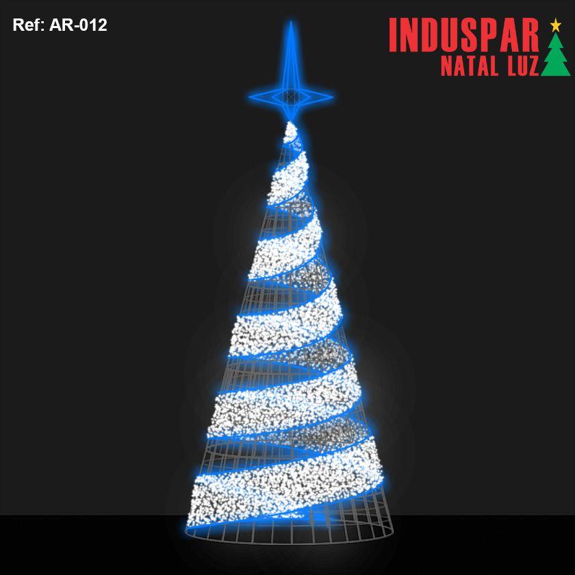 AR-012 - Arvore de Natal Gigante Led Orion Estrelas com Festão - (Veja tamanhos) 220V
