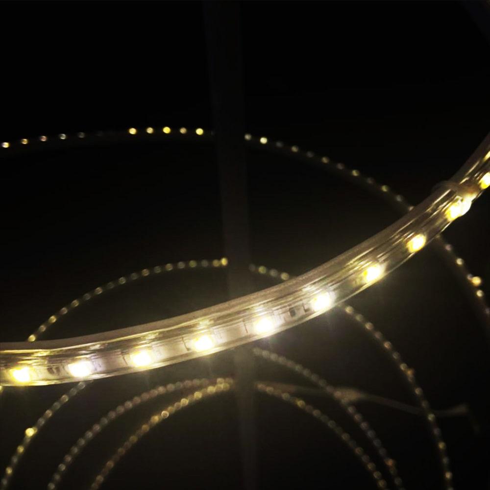 AR-050 - Arvore de Natal Espeto Led Espiral - Altura 1,60 Metros