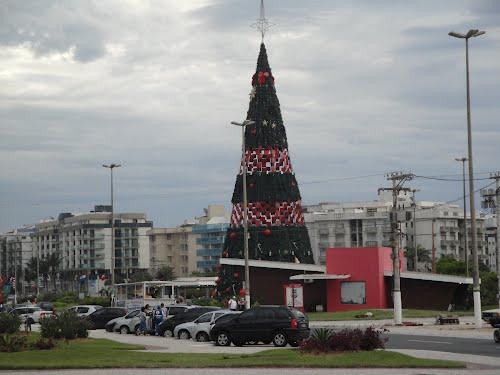 Árvore de Natal Gigante Glamour Led 18 Metros Completa
