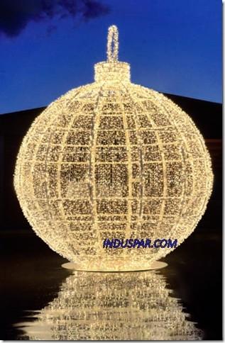 138-FA - Bola de Natal 3,00 Metros Gigante Europa Charm