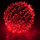 FI-131/200 - Bola de Natal  200 cm Esfera Gigante 3D Iluminada Led