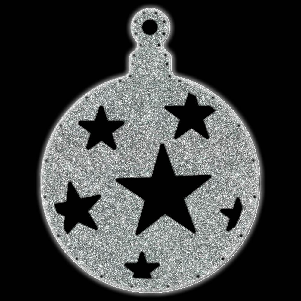 066-MD - Bola de Natal  52 cm Gigante Iluminado LED - BN05-DN