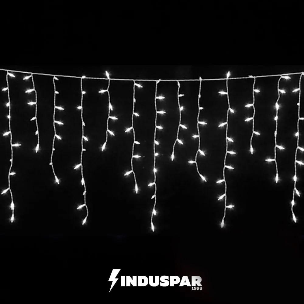 Cascata 400 LED   Branco Frio - Fixo   Tam. 9,50M