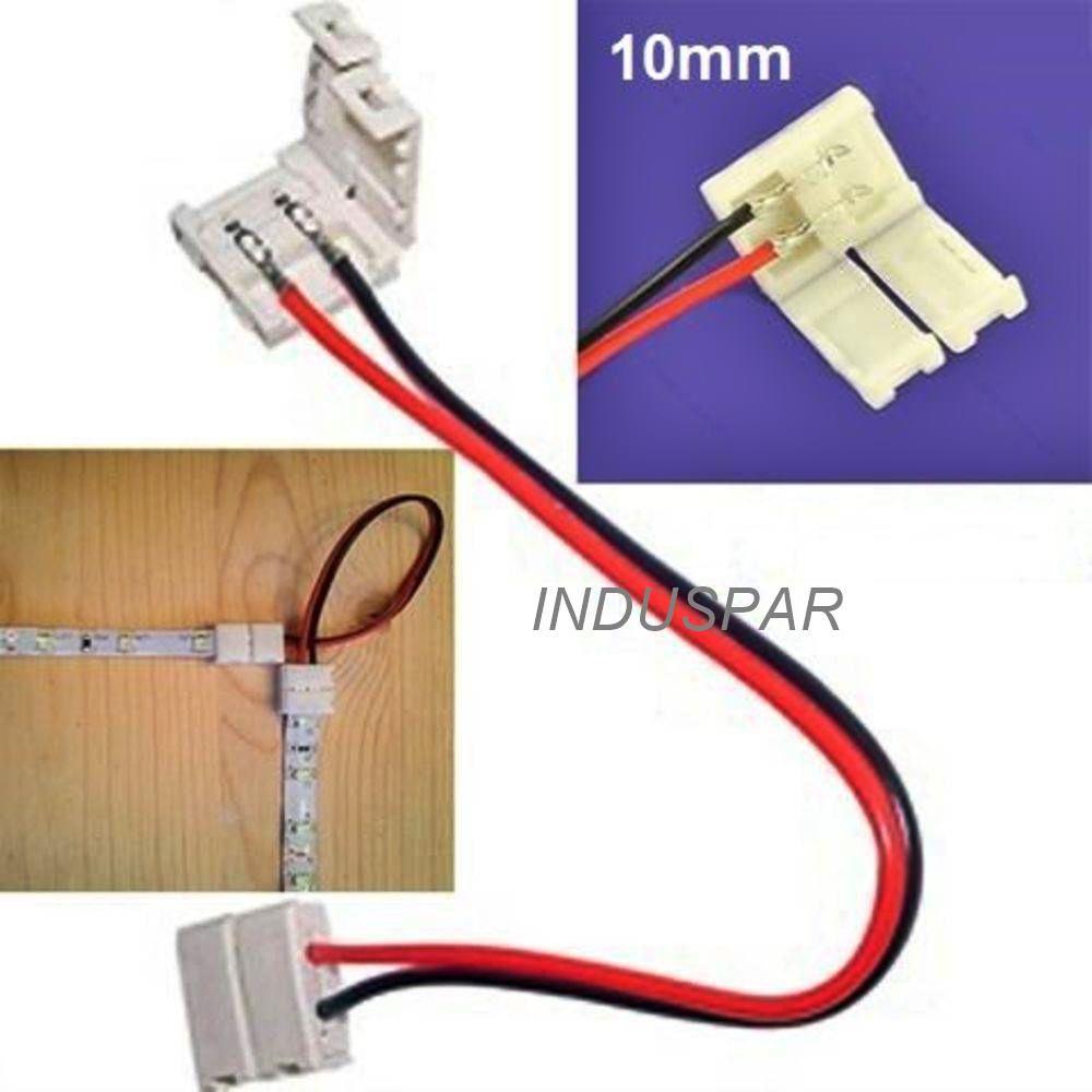 Conector de emenda Fita de Led 5050H 10 mm