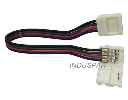 Conector de emenda Fita de Led RGB 5050H 10mm