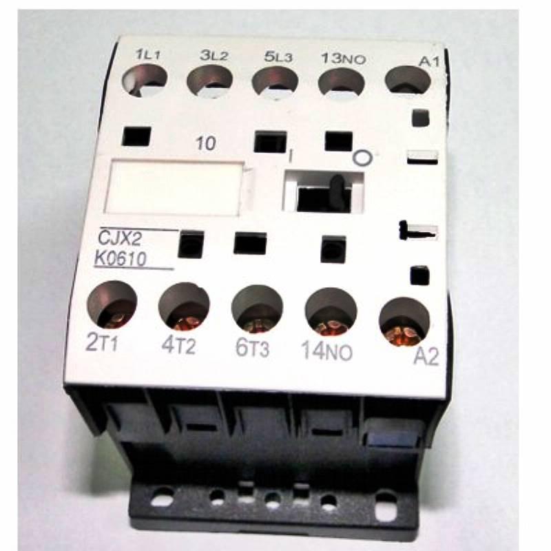 Contator de potência mini CJX2-K0610 - 1 contato auxiliar NA - bobina 220V