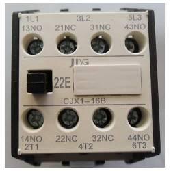 Contator de Potência Tripolar JNG CJX1-16B CA~ 220V