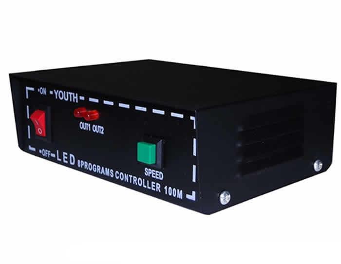 N01-20 - Mangueira Luminosa led - Controle Sequencial Bivolt até 100 mt