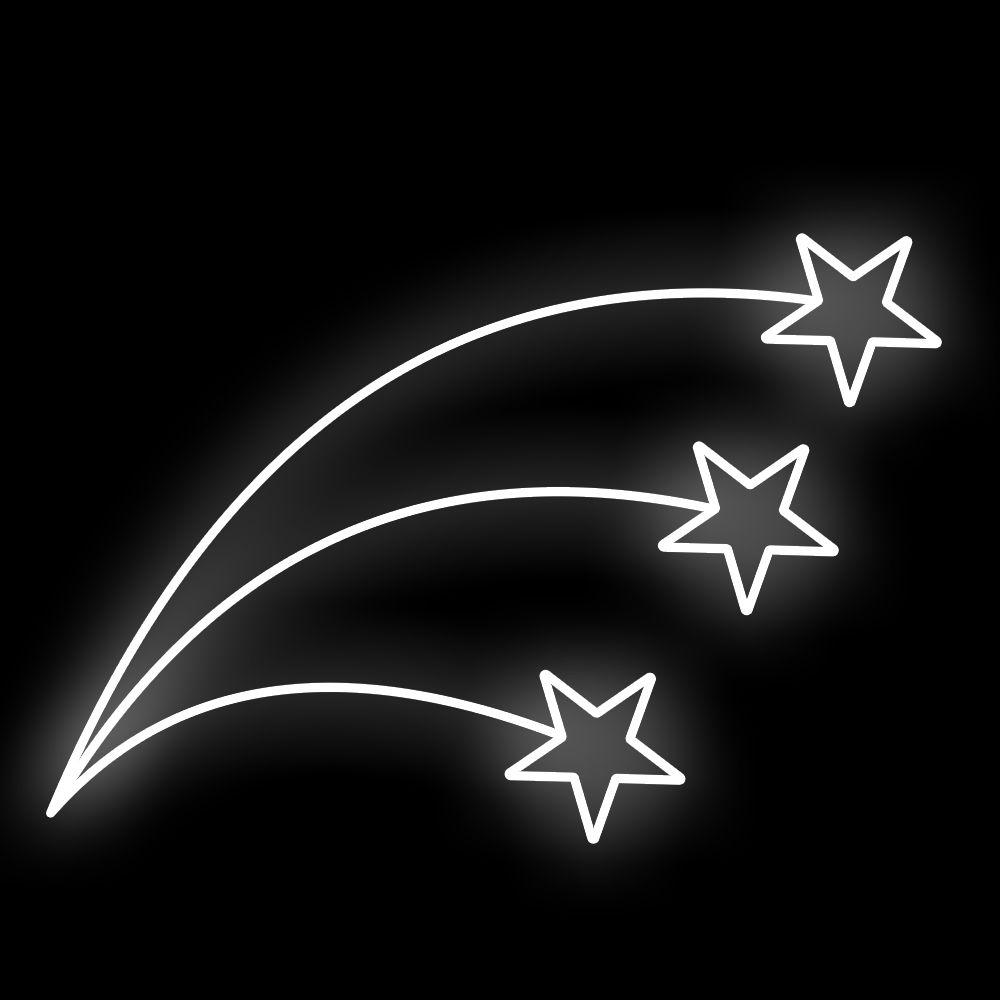 FI-018 - Estrelas Trio Curvas Ornato (veja opções)
