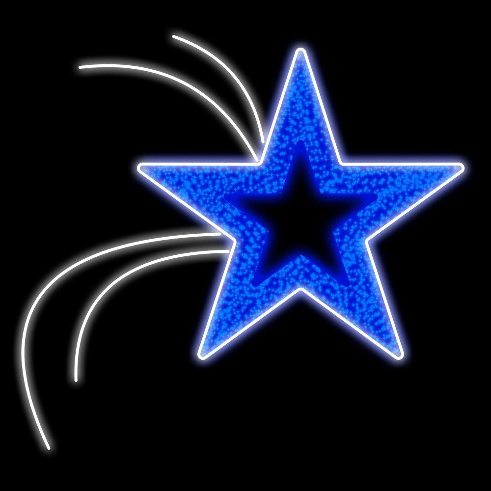 FI-048 - Estrela flutuante Led (veja opções)