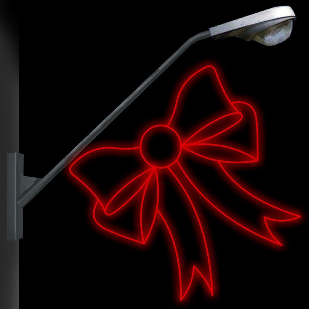 FI-039 - Laço Metálico Iluminado Led  (veja opções)