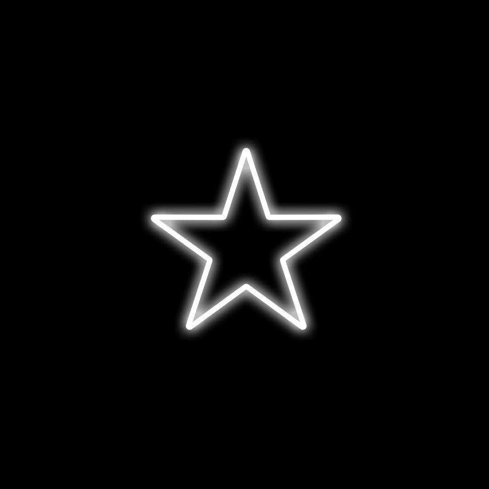 FI-051 - Estrela 5 Pontas 30 CM Metálica Iluminada Led - ( Veja tamanhos e Cores)