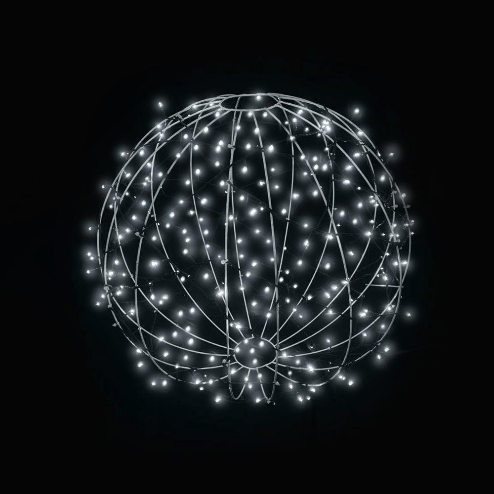 FI-131/040 - Bola de Natal  40 cm Esfera Gigante 3D Iluminada Led