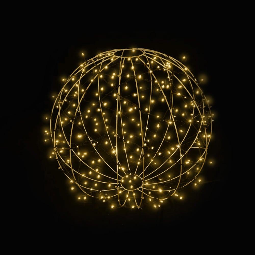 FI-131/120 - Bola de Natal  120 cm Esfera Gigante 3D Iluminada Led