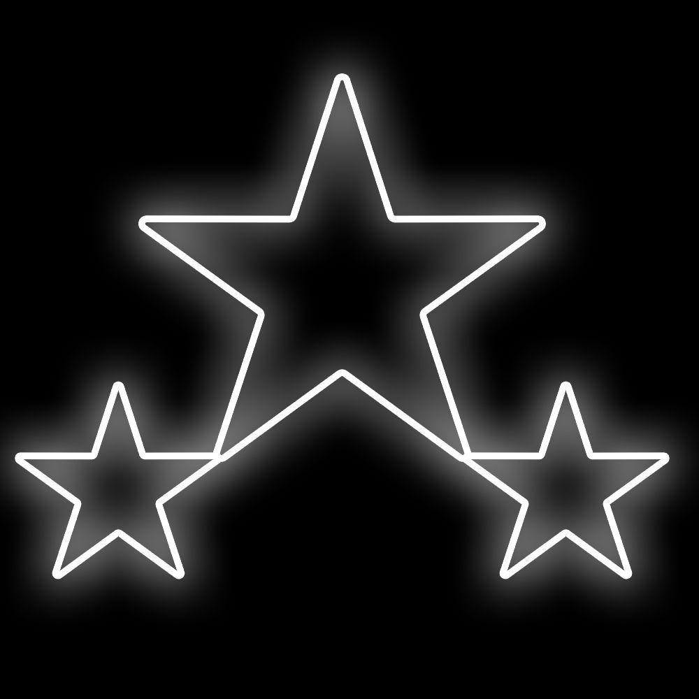 FI-174 -Trio de Estrelas 5 Pontas  (veja opções)