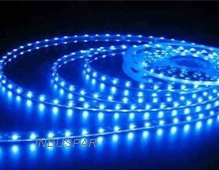 Fita de led 3528 24W 12v uso interno ( 5 metros ) Azul