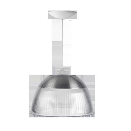 L01- Pendente Prismátical 22 Pol Cristal - Branco - E27