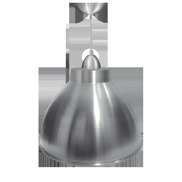 L02- Luminária Pendente Alumínio 16 Pol em Cores Diversas