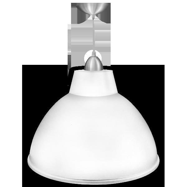 Luminária Pendente Alumínio 20 Pol em Cores Diversas - L02-20AL