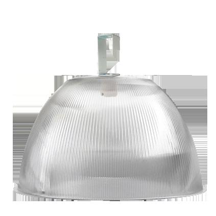 Luminária Prismática 22 Pol Prato e Gancho Difusor Cristal - L05-22CR