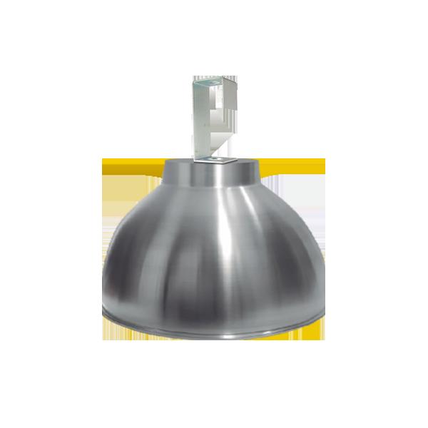 Luminária de Alumínio Gancho e Refletor 12 Pol  com Cores Diversas - L06-12AL