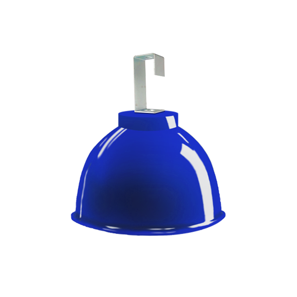 L06- Luminária de Alumínio Gancho e Refletor 12 Pol  com Cores Diversas