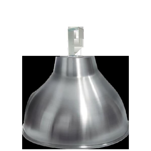 Luminária de Alumínio Gancho e Refletor 20 Pol  com Cores Diversas - L06-20AL