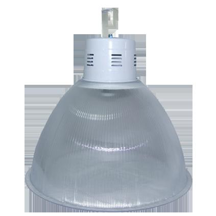 L07- Luminária Industrial Prismática 22 Pol Alojamento Balde