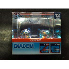 Lâmpada Especial Pisca 1 Polo Osram Diadem Bau15s Py21w 12v (par)