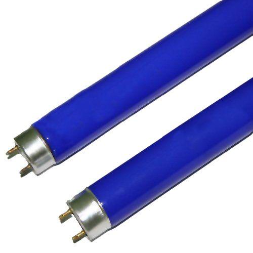 Lâmpada Tubular Fluorescente 32W T8 AZUL