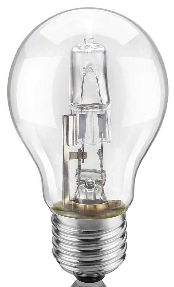 LL01T - Lâmpada Eco Halógena A60 105W Transparente 127V ELGIN