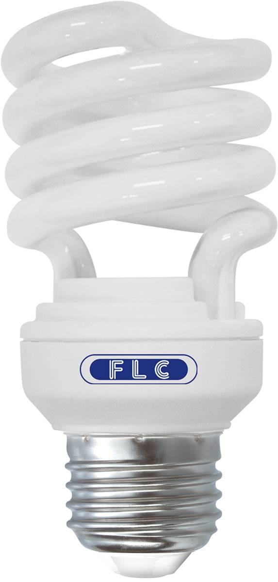 Lâmpada Econômica  45W Espiral 127V Branco Frio - E-27 FLC