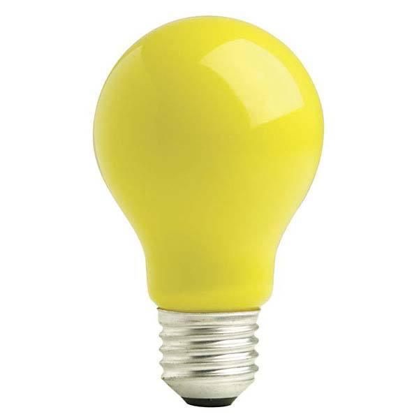 Lâmpada Incandescente A60 60W Anti Insetos 220V - LL01T