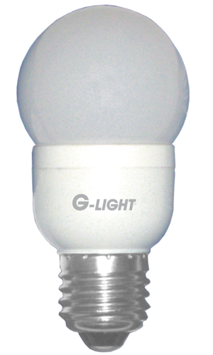 LL01 - Lâmpada Bulbo   0,6W LED Verde E27 - 250 Lúmens