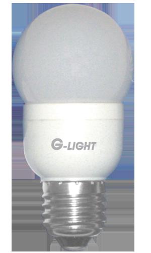 Lâmpada Bulbo G45 0,6W LED Vermelho E27 220V - 250 Lúmens