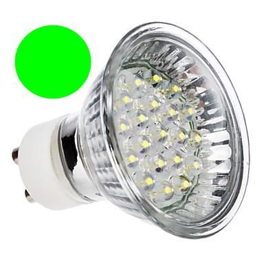 Lâmpada Dicróica Led MR16 Gu10 Verde 20 Led 1,3W 220V